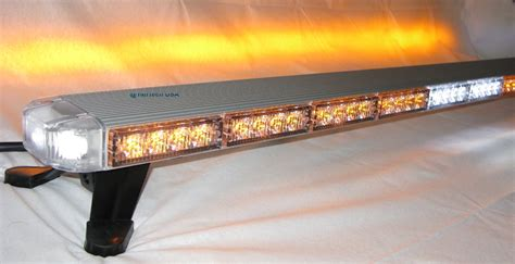 amber tow truck lights 50 quot amber clear led flashing lightbar warning tow truck
