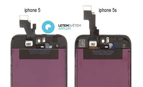 iphone 5 compared to iphone 5s iphone 5s screen leaked photos show minor differences