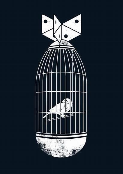 Pop Surrealism Illustration Behance Prisoner War