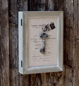 Landhaus Online Shop : schl sselkasten aus holz shabby chic landhaus vintage 21x28x6cm more online shop ~ Indierocktalk.com Haus und Dekorationen