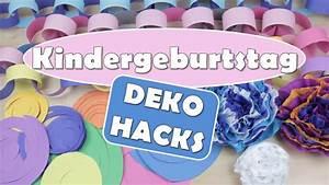 Deko Für Kindergeburtstag : kindergeburtstag deko hacks diy dekoration geburtstag deko tipps youtube ~ Frokenaadalensverden.com Haus und Dekorationen