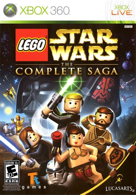 Lego Star Wars The Complete Saga Xbox 360 Review Any Game