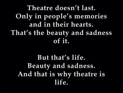 musical theatre quotes and sayings