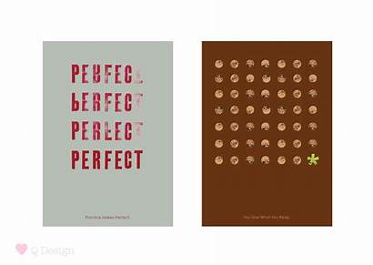 Typography Postcards Designs Posted