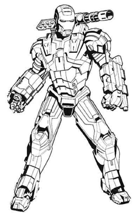 iron man coloring pages  adults iron man hulkbuster