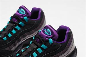 Teal Light Teal And Purple Highlight The Nike Air Max 95