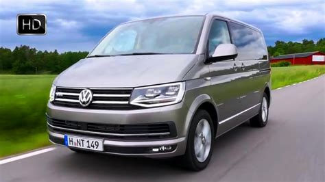 vw t6 multivan highline 2016 volkswagen t6 multivan highline tdi 4motion design road drive hd