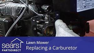 Replacing the Carburetor on a Lawn Mower - YouTube