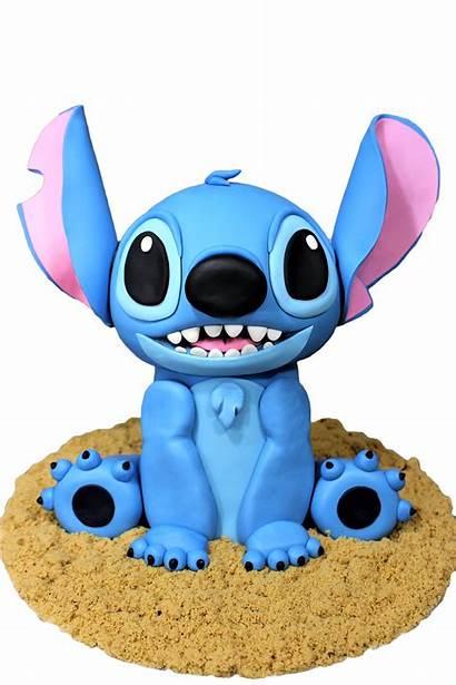 Stitch Lilo Cake Fondant Disney Tutorial Pasteles