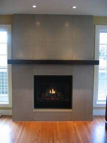 Floating Shelves above Fireplace