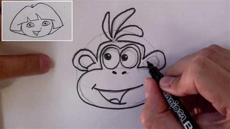 draw boots  monkey  dora  explorer