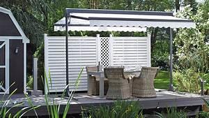 sonnenschutz fur balkon und terrasse markisen zanker With garten planen mit freistehende markise für balkon