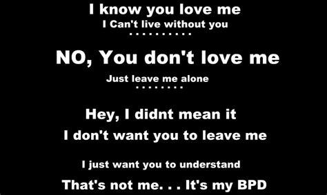 Funny Bpd Quotes