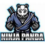 Panda Ninja Mascot Esport Thehungryjpeg