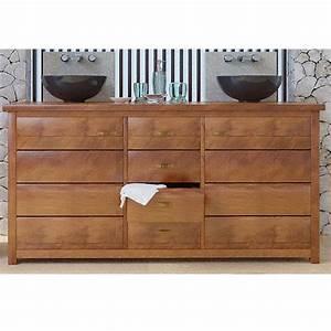 Meuble De Salle De Bain Teck : meuble bas de salle de bain teck jimbaran ~ Dailycaller-alerts.com Idées de Décoration