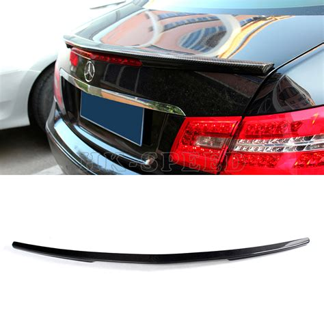 Carbon Fiber W207 E260 Car Rear Trunk Boot Lip Spoiler