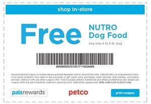Dog Food Coupons Printable 2017