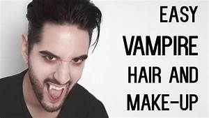 Cheap And Easy Vampire Look - Hair And Make-up - Halloween ...