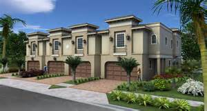 2 bedroom 2 bath house plans la flor de westshore townhomes