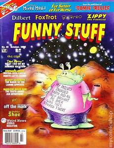 Funny Stuff (1995 Comic Relief) 10 VG+ 4.5