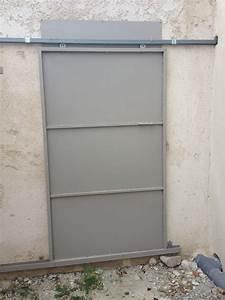 Porte En Métal : portes metalliques exterieure de securite coulissantes martigues m tal concept ~ Teatrodelosmanantiales.com Idées de Décoration