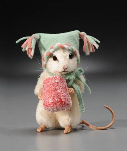 john wright sugar christmas mouse