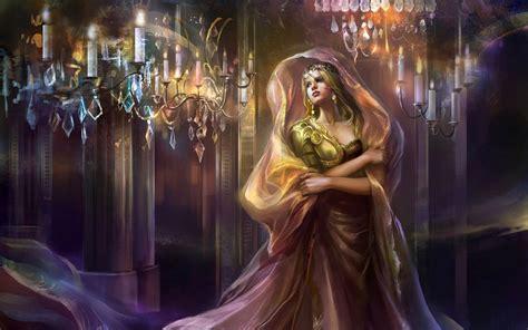 Permalink to Fantasy Queen Wallpaper
