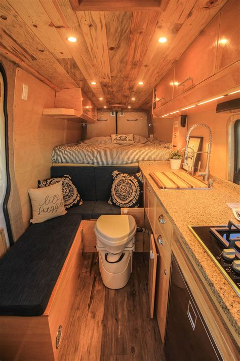 Van tour | insane sprinter van luxury conversion with all the features bathroom / shower etc. Apollo | Camper van conversion diy, Van conversion interior, Converted vans