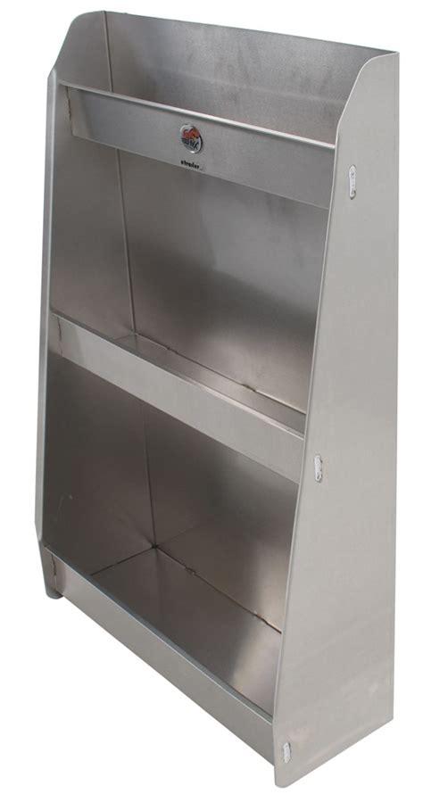 retail kitchen cabinets tow rax aluminum storage cabinet w 3 shelves 36 quot x 1924