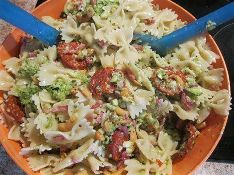 salade de pates courgettes salade