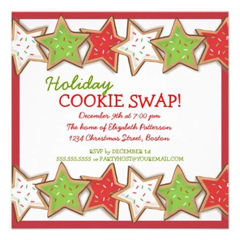 Cookie Invitation Template by 6 Best Images Of Cookie Exchange Invitation