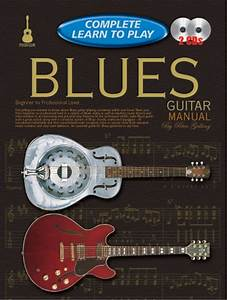 Progressive Complete Learn To Play Blues Guitar Manual