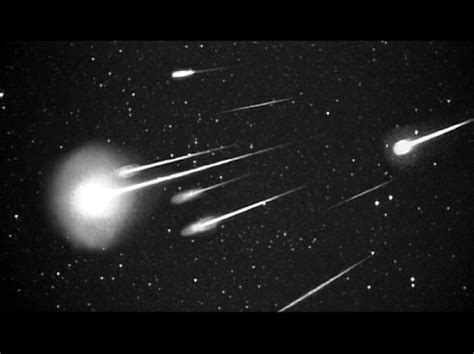 Meteor Showers Shooting Stars Formation
