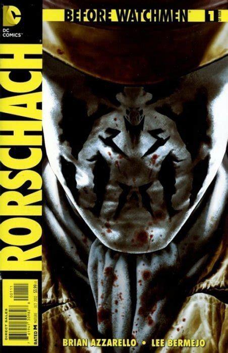 watchmen rorschach  dc comics comicbookrealmcom