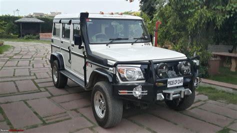 Our Modified Mahindra Bolero 4x4
