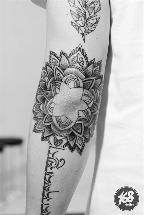 mandala tattoo elbow placement  tattoo artwork