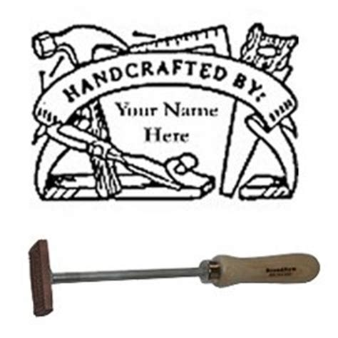 branding iron flame heated bn  personalized tool