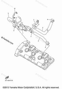 Yamaha Motorcycle 2008 Oem Parts Diagram For Air Induction
