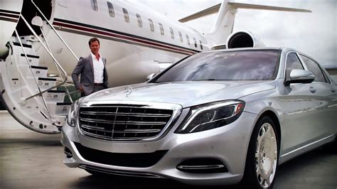 Private Jet + The New Maybach