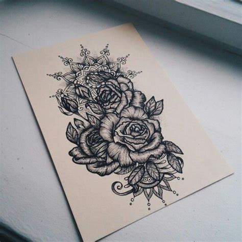 ideas  floral mandala tattoo  pinterest