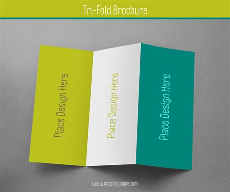 A Collection Of Free Psd Brochure Mockups Free Tri Fold Brochure Mockup For Graphic Designers