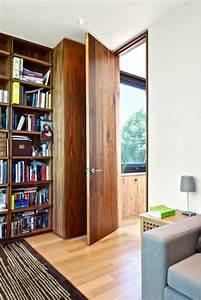 Full Height Door Details - Modern - Home Office - Toronto