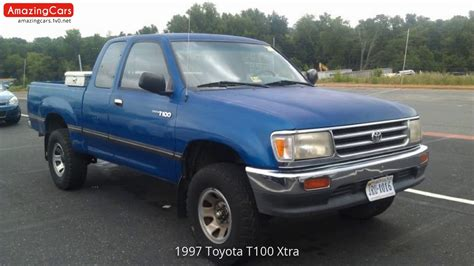 how to fix cars 1997 toyota t100 xtra on board diagnostic system 1997 toyota t100 xtra youtube