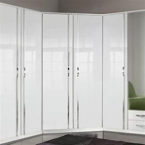 Kleiderschrank Schwarz Weiß : kleiderschrank trio schrank dreht renschrank wei oder schwarz hochglanz chrom ebay ~ Orissabook.com Haus und Dekorationen