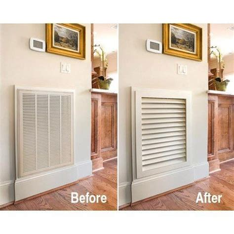 Diy Excellent How To On Making A Return Air Grille Diy