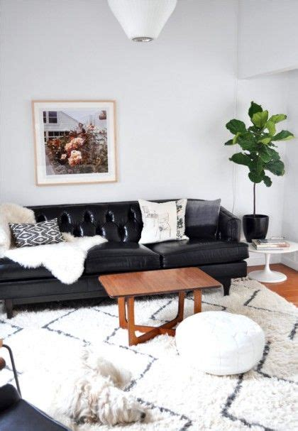 black leather sofa decorating pictures 25 best ideas about black leather couches on