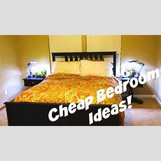 Cheap Bedroom Decorating Ideas!  Daily Vlog 478  Youtube