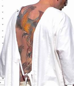 Ben Affleck Has Huge, Colorful New Back Tattoo of Phoenix ...