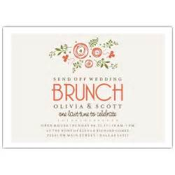brunch bridal shower bunches of wedding brunch invitations paperstyle