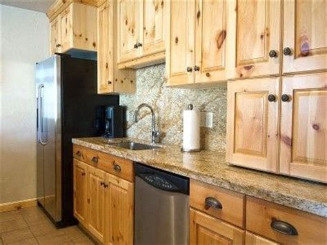 17 best ideas about knotty pine cabinets on